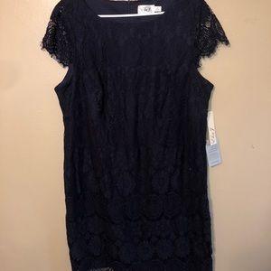 Navy lace dress 16W